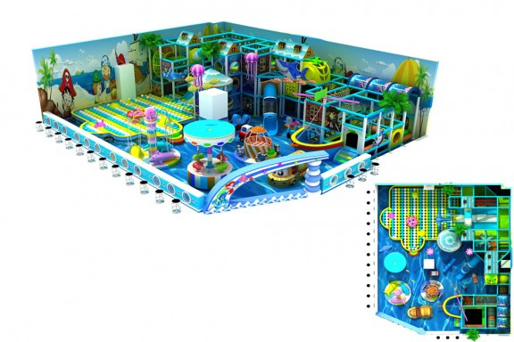 100% Customized Kids Playground