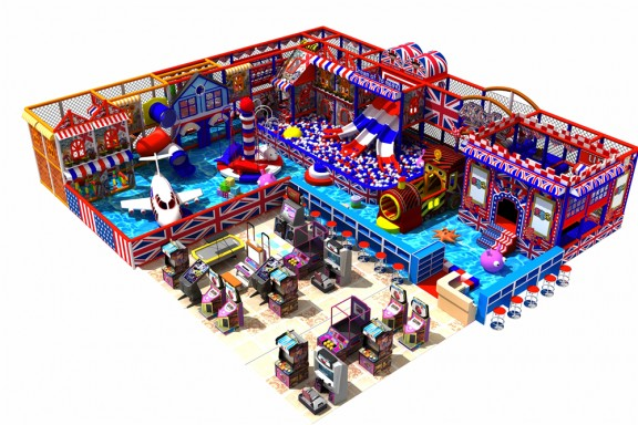 British theme indoor park