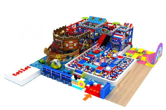 Ocean theme indoor playground