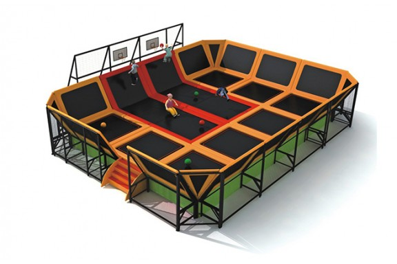 Big Trampoline For Kids