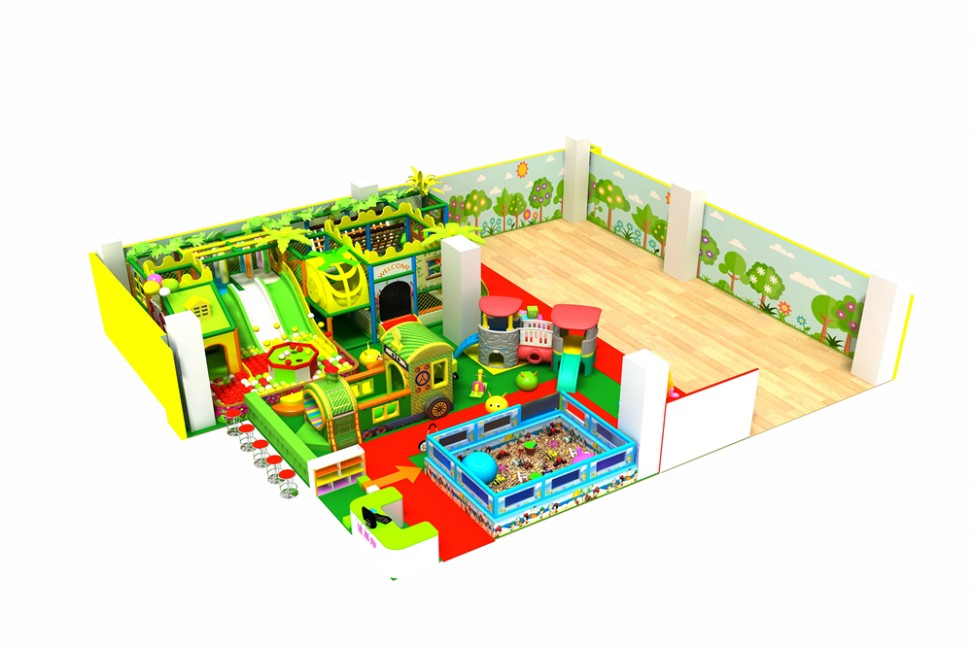 indoor jungle gym for children