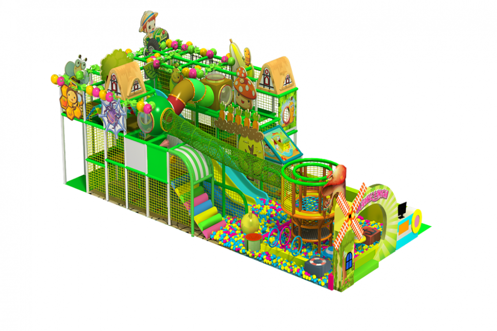 Kids indoor jungle gym