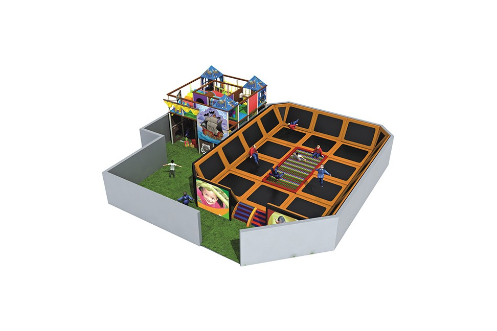 Large Trampoline For Kids