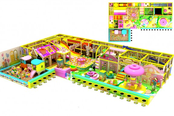 Candy theme indoor playground