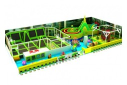 Trampoline park for kids
