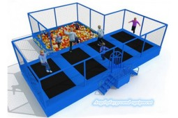 Trampoline park for kids party