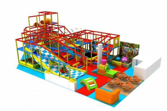 Indoor soft playground