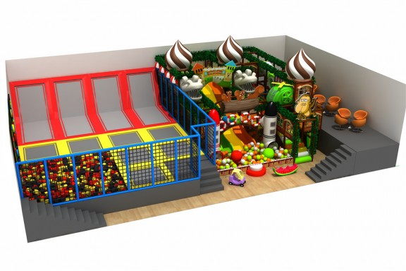 New type indoor playground for kids