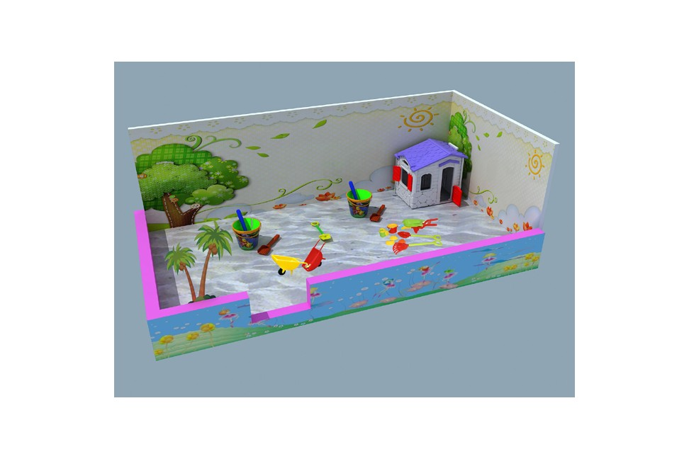 Indoor Playhouse With Slide