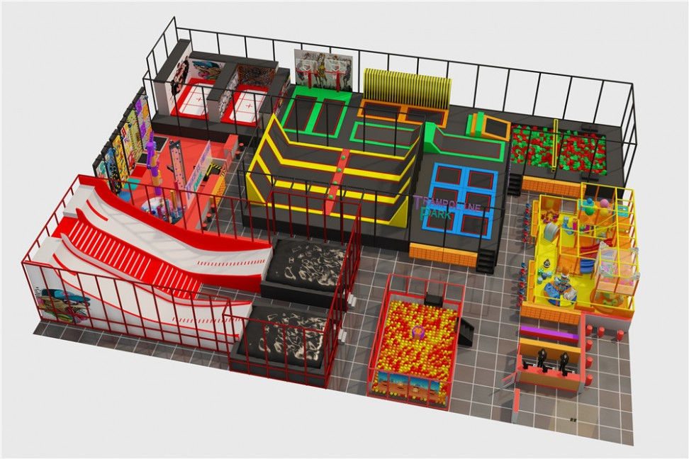 New Arrival Indoor Playground Equipment