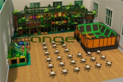 Indoor kids play gym