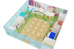 Professional Preschool Kids Role Play House
