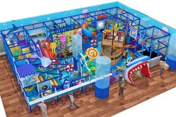 Professional Used Ocean Theme Indoor Park