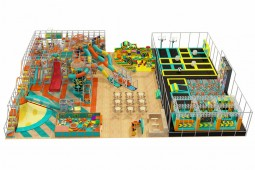 Large Commercial Indoor Playground Equipment