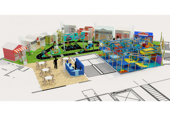 100% Customized My Town Kids Indoor Playground