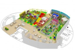 Indoor Play Equipment For Children Comercial In Venezuela