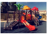 Several exercises children can do in the outdoor play structure to get over procrastination
