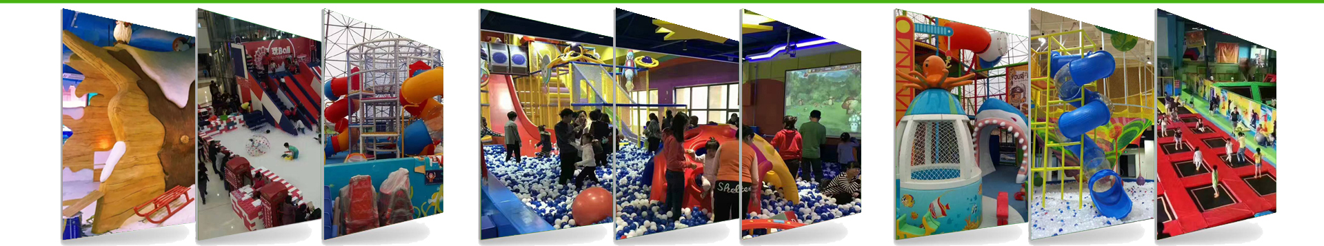 Components of indoor playground