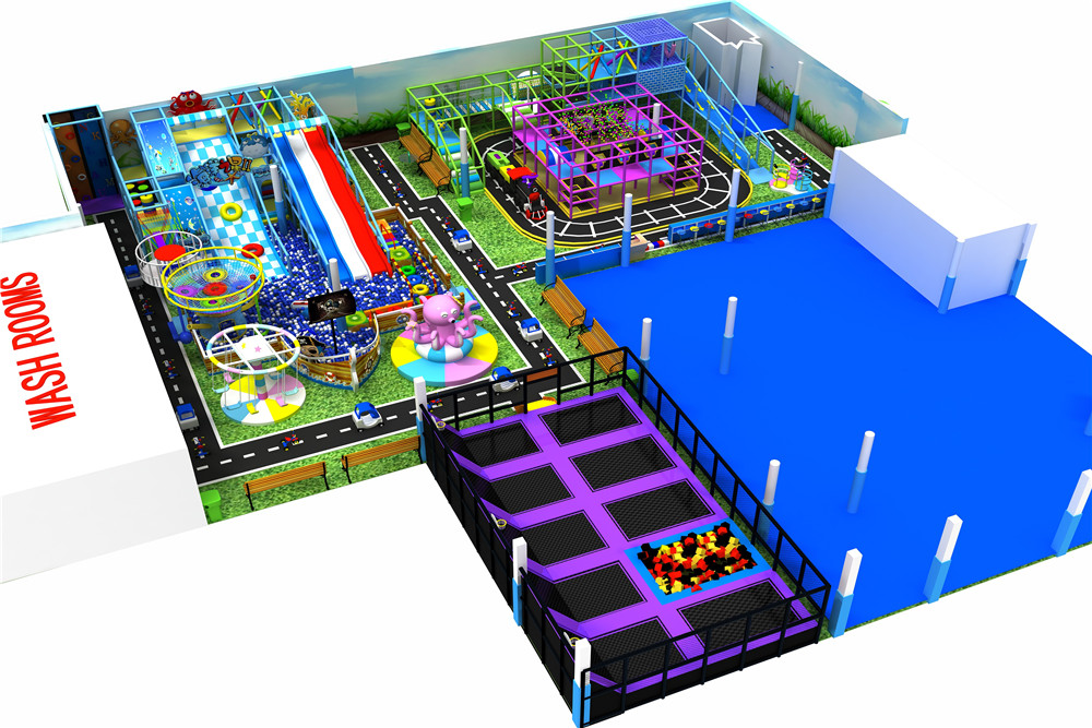 Indoor playground equipment