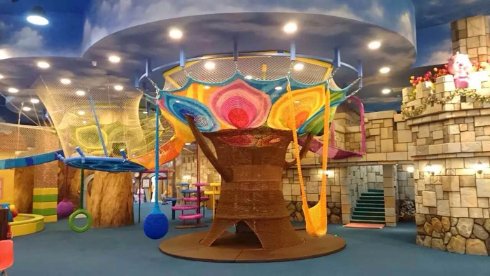 Indoor Playground Equipment For Children - Commericial - Angel ...