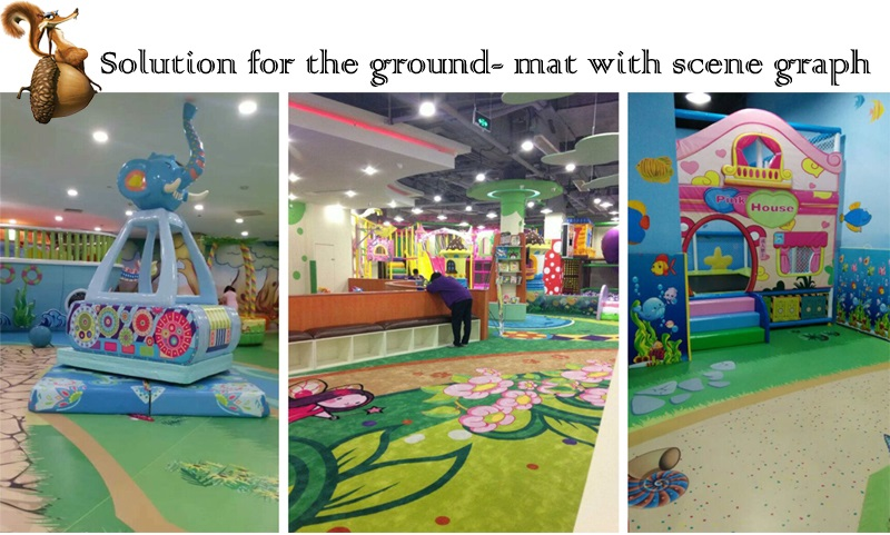 kids indoor playground-flooring