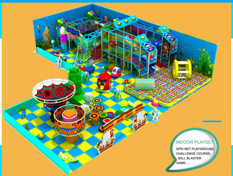 indoor childrens playground equipment