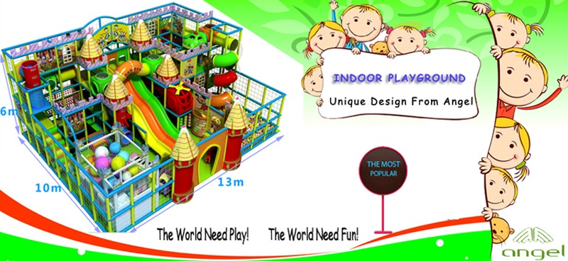 biggest indoor childrens playgrounds