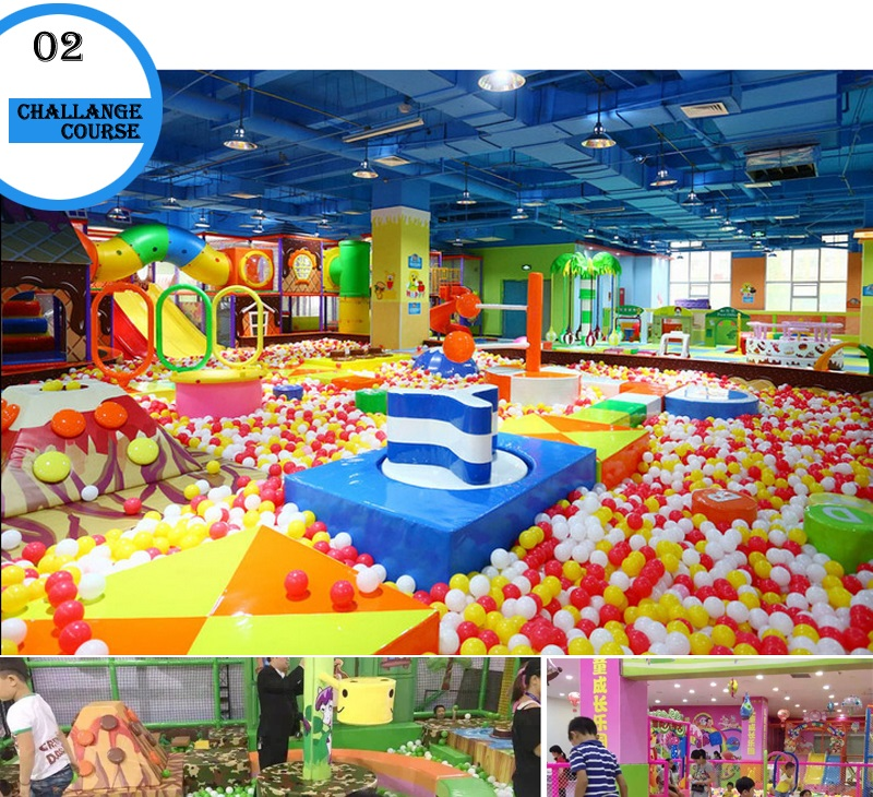 Baby indoor playground manufacture