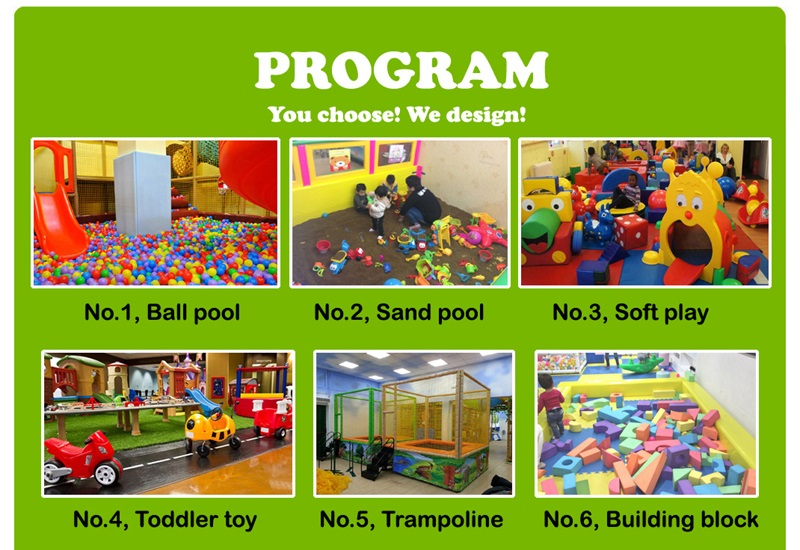 Indoor playground supplier