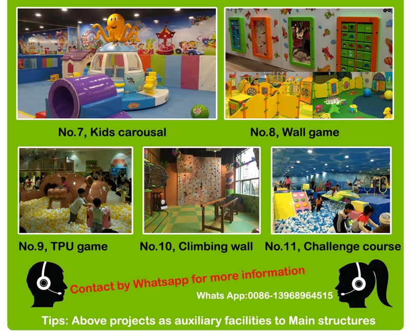 Indoors playground supplier