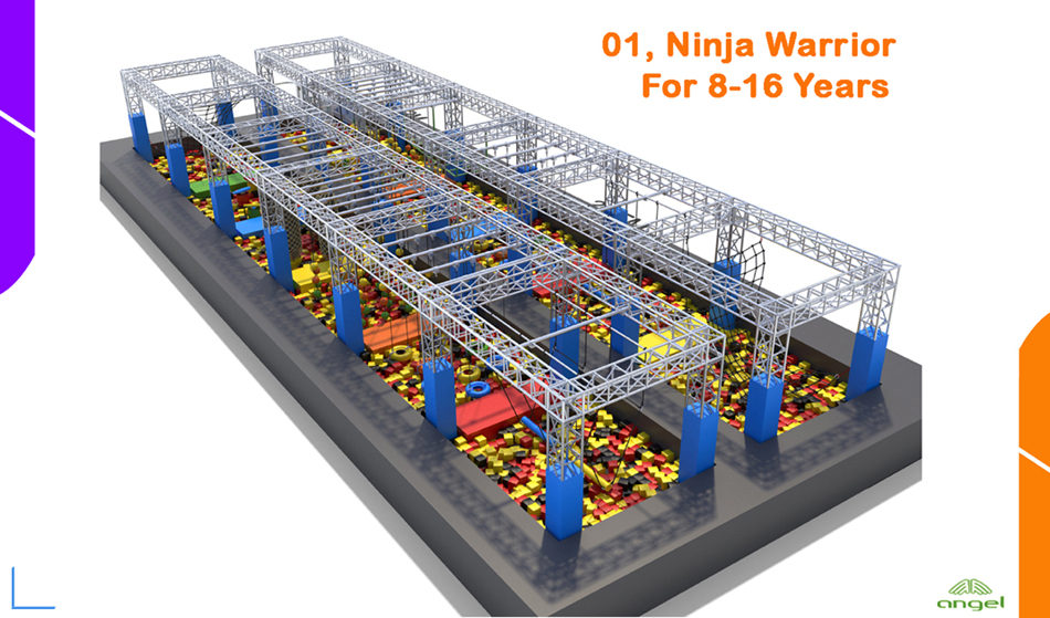 ninja warrior course